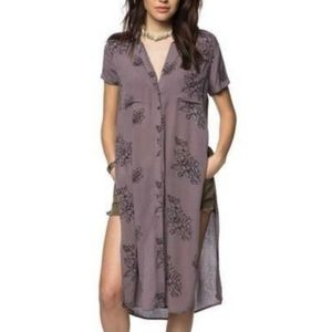 O'Neill beach cover up thora tunic top  NWT